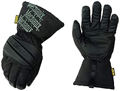Mechanix Wear Winter Work Gloves for Men Winter Impact Protection - Insulated with 3M Thinsulate, Touchscreen, Waterproof (Medium, Black/Grey)