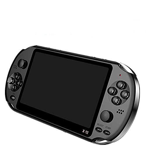 MEIXIANG 5.1 Pulgadas Portátil De La Consola De Juegos Portátil De Doble Joystick 8GB Precargado 1500 Juegos Gratis Soporte TV out Máquina De Videojuegos 8