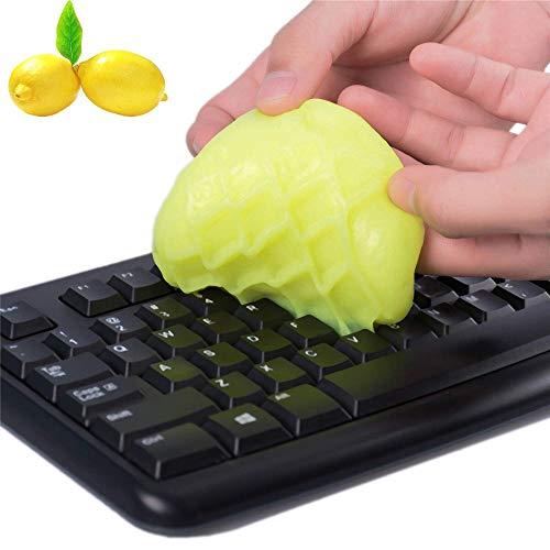 2 Box Tastaturreiniger Reinigungsgel Universal Dust Cleanerfor Pc Tablet-Laptop-Tastaturen Autoentlüftung Drucker Bildschirme und andere robuste Kunststoffoberfläche