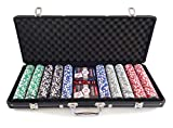 Smir–360355–World Poker Tour Casino Game Case Aluminium black Grimaud Poker 500Chips US