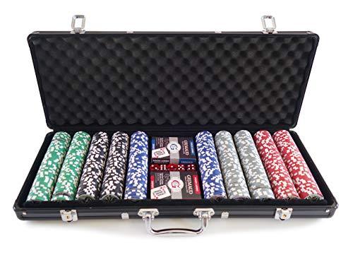 Grimaud - Malette Noire 500 jetons - Poker