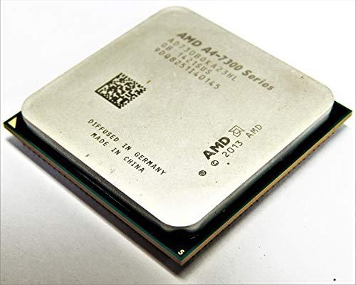 AD7300OKA23HL AD7300OKA23HL - Procesador de doble núcleo (2 núcleos, 3,80 GHz, zócalo FM2OEM, 1 MB, Sí, 32 nm, AMD Radeon HD 8470D, 65 W, 158?F (70?)