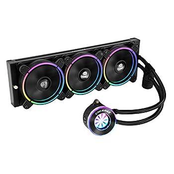 Enermax Liqfusion 360 Addressable RGB AIO CPU Liquid Cooler AMD AM4/Intel LGA 1200/1151 Flow Indicator Design 5V 3-PIN ARGB 5-Yr Warranty
