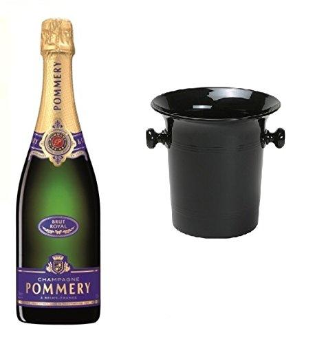 Pommery Champagner Royal Brut in Champagner Kübel 12,5% 0,75l Flasche