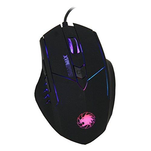 GameMax Tornado Gaming Mouse - Bl