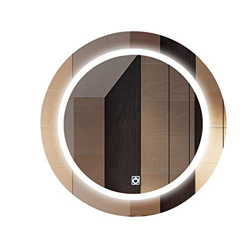 Bathroom mirror Espejo de luz LED, Espejo de baño, Espejo de baño Iluminado, Espejo de baño LED Seguro e Inteligente, Espejo de baño antivaho de Pared