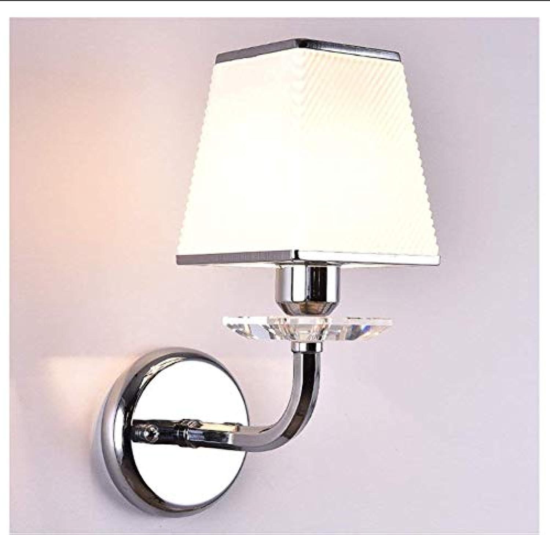 Lampe Nachttischlampe Hotel Schlafzimmer Platz Kristall Wandleuchte Leselampe