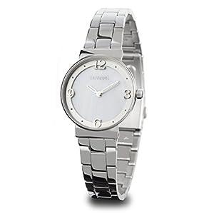 Reloj Duward para Mujer de Acero con 2 Agujas de Color Plateado D25107.01