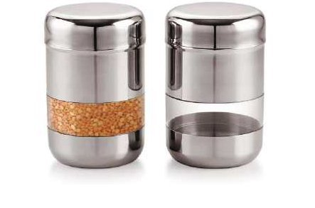 Why Should You Buy saanvi creations Russian Side Thru Canister Set Of Two