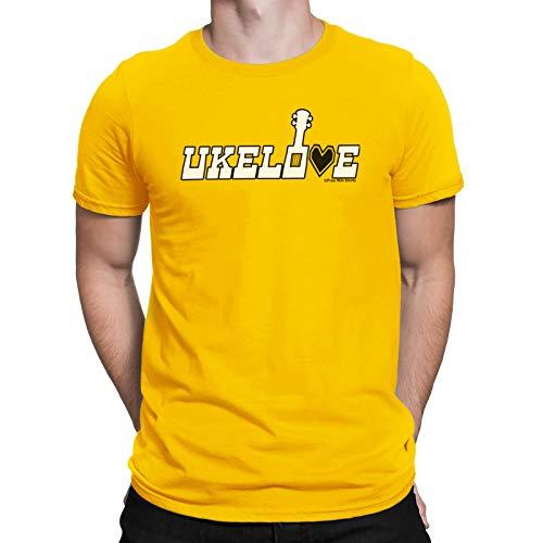 Free Will Shirts Ukelove Ukulele - Mens Music Organic Cotton T-Shirt