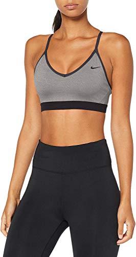 Nike Women's Indy Light Support Sports Bra (Medium, Carbon/Anthracite)