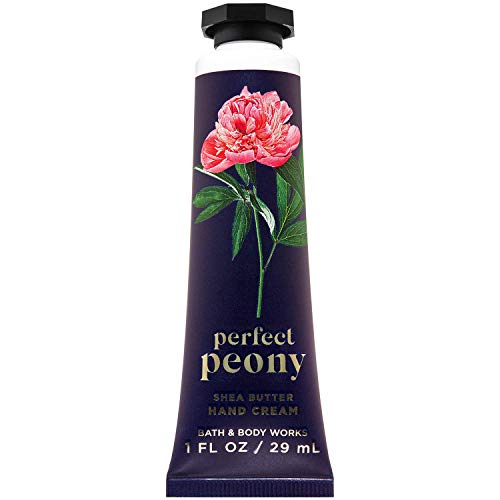 Bath and Body Works PERFECT PEONY Shea Butter Hand Cream 1.0 Fluid Ounce (2020 Limited Edition)