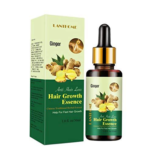 joyMerit Natural Benefits Ginger Essential Oil Repairs Hair Follicles for Men Women
