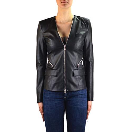 PATRIZIA PEPE luxe mode dames 8L0347A1DZK103 zwart Outerwear jas |