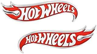 2pcs OEM Camaro Hot Wheels Edition Wheel Deck Lid Emblems Badge Hotwheels Red Genuine