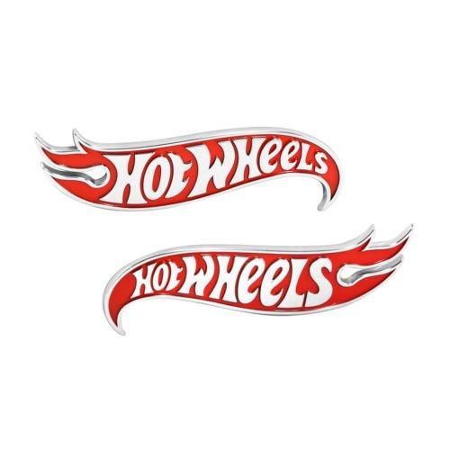 2x OEM Genuine Chevy Camaro Hot Wheels Edition Deck Emblems Badge Red -  Xuebols