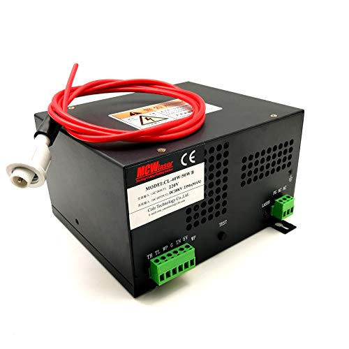 HQ Professional Power Supply for 40W 50W CO2 Laser Tube Engraver Cutter 220V unidad de fuente de alimentación