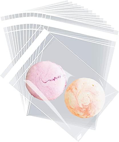 240x Bolsas de Celofán Pequeñas Transparente Autoadhesiva, Bolsas Plastico con Cierre Adhesivo para Bombones, Chuches, Caramelo y Galletas (7x10cm)