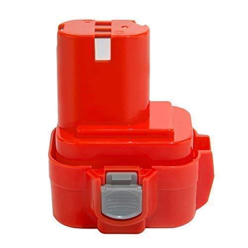Creabest 9.6V 3.0Ah Batería para Makita PA09 9100 9120 9122 9133 9134 9135 9135A 192595-8 192596-6 192638-6 193977-7 192697-A 193058-7 193099-3 193156-7 193979-3 638344-4 -2, Ni-MH Batería de Repuesto