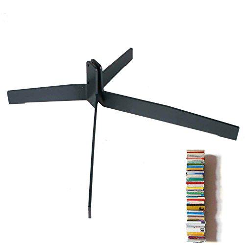 Haseform Standfuß für Bücherturm anthrazit