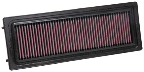 K&N Engine Air Filter: High Performance, Premium, Washable, Replacement Filter: 2016-2019 ALFA ROMEO (Giulia, Stelvio) , 33-3071