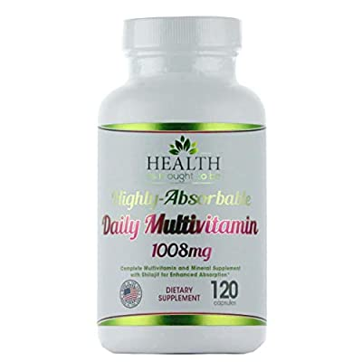 Highly-Absorbable Daily Multivitamin with Shilajit, MethylB12, Methylfolate, and Vitamin K2 MK-7 120 Capsules
