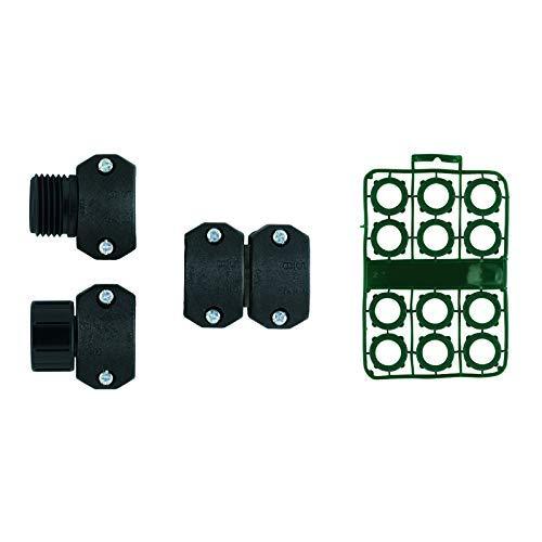 Orbit 20 Pack Complete Kit for Hose Repair 5/8 Inch- 3/4 Inch Garden Hoses