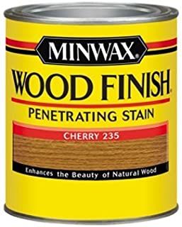Minwax 70009444 Wood Finish Penetrating Stain, quart, Cherry