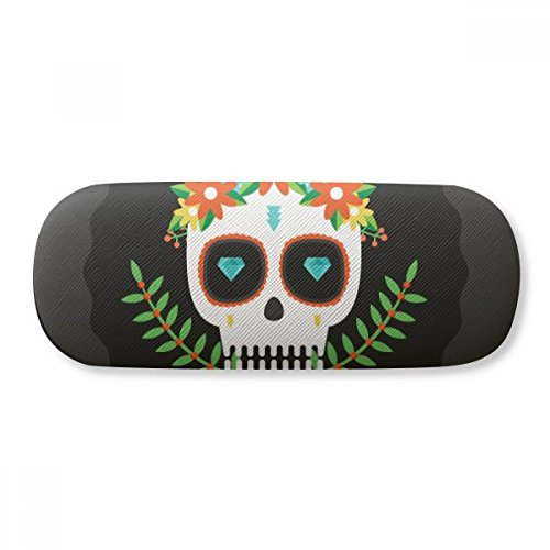 Skulls Of The Mexico Day Of Dead Glasses Case Eyeglasses...