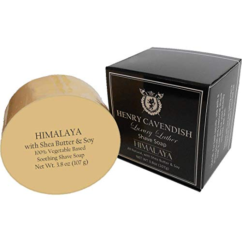 Henry Cavendish Himalaya Shaving Soap with Shea Butter & Coconut Oil