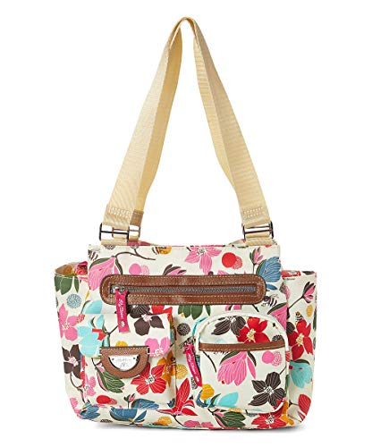Lily Bloom Remi Triple Section Satchel, Blossoming Bees