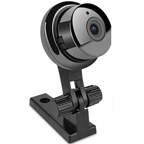 V380 Wireless Mini WIFI IP Camera HD 1080P Smart Home Security Camera Wireless Black Lichtgevende beugel