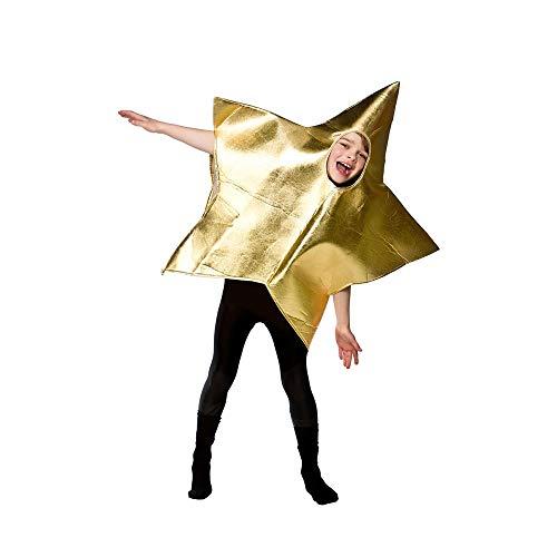 Enfant nativité costume d'étoile d'or. Une taille, environ 4-sept années.