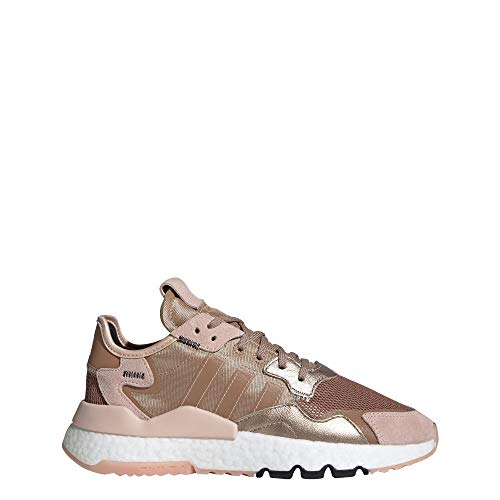 adidas Nite Jogger Shoes Women's, Gold, Size 6.5