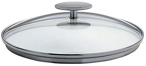 Cristel-K30P-Couvercle en verre bombé - Platine