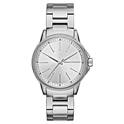 Armani Exchange Reloj Analógico para Mujer de Cuarzo con Correa en Acero Inoxidable AX4345