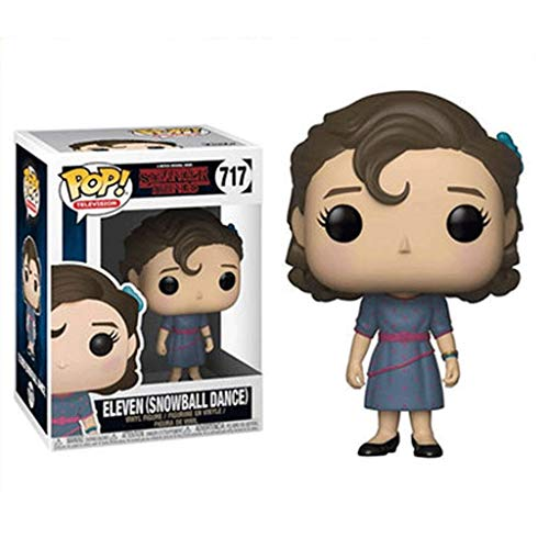 Funko Pop Television : Stranger Things – Eleven#717 3.75inch Vinyl Gift for Horror Television Fans for Boy