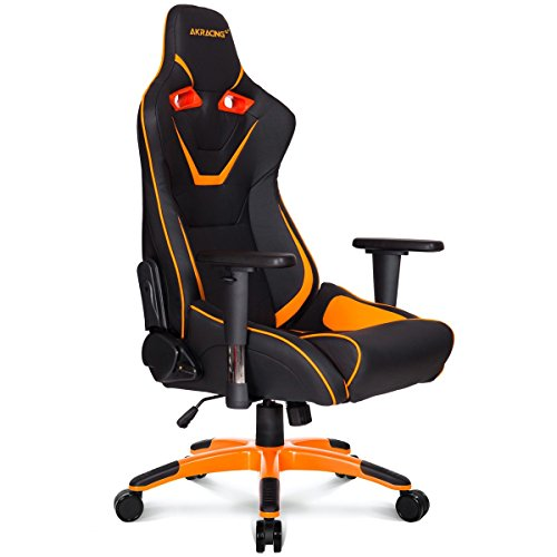 AKRacing CP - AK-CP-BO - Silla Gaming, Color Negro/Naranja
