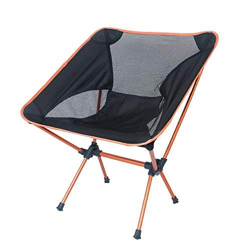 Chaise Pliante, Chaise de pêche Lune Chaise de Camping Chaise en Aluminium 7075 Portable, Chaise de Plage