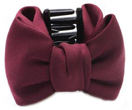 Fleurs/cheveux Barrette pince à cheveux pour les femmes/Lady/Girls Hair Ornament, Rouge foncé # 13