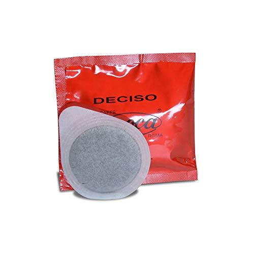 Caffè Moca Cialde ESE 44 mm Deciso Carta Filtro Compostabile Compofilt - 150 Cialde