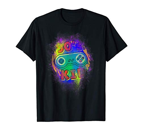 Oldskool Retrowave Vaporwave Vintage 80s Gamer Humor Zocker T-Shirt