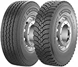Michelin X WORKS Z 315/80/R22 156 K - Pneumatico per Trasporti - B//C/69