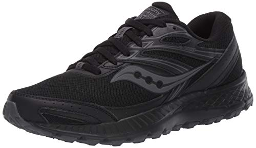 Saucony mens Cohesion Tr13 Running Shoe, Black/Grey, 11.5 US
