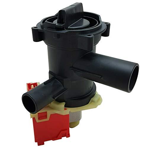 Laugenpumpe Ablaufpumpe Copreci Abwasserpumpe für BOSCH Waschmaschine 00144192, 00145787 mit Pumpenkopf und Sieb 614351, 00146094, 00145905