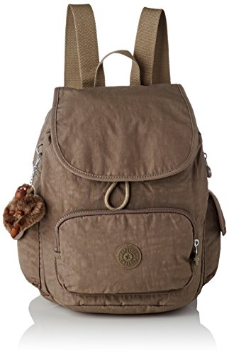 Kipling City Pack S - Zaini Donna, Marrone (True Beige), 27x33.5x19 cm