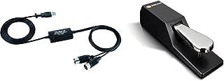 Roland UM-ONE MK2 Interface USB MIDI & M-Audio SP-2 - Pédale de Sustain Universelle de Type Piano pour des Claviers Électr...