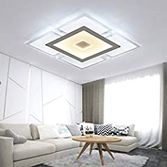XYJGWDD LED Ceiling Light Ultra Slim Modern Energy Saving LED Dimmable Ceiling Lamp for Living Room Bedroom Kitchen [Energy Class A+] [Energy Class A #3