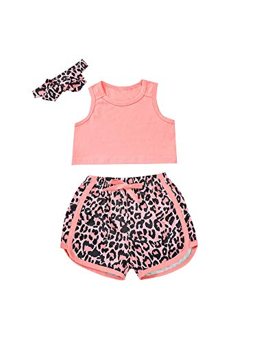 Trajes de bebé para niños y niñas, estilo deportivo, cintura elástica, bloque de color suelto y pantalones cortos