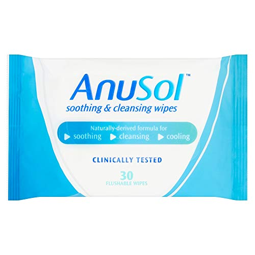 AnuSol wipes for haemorrhoids - suitable in pregnancy